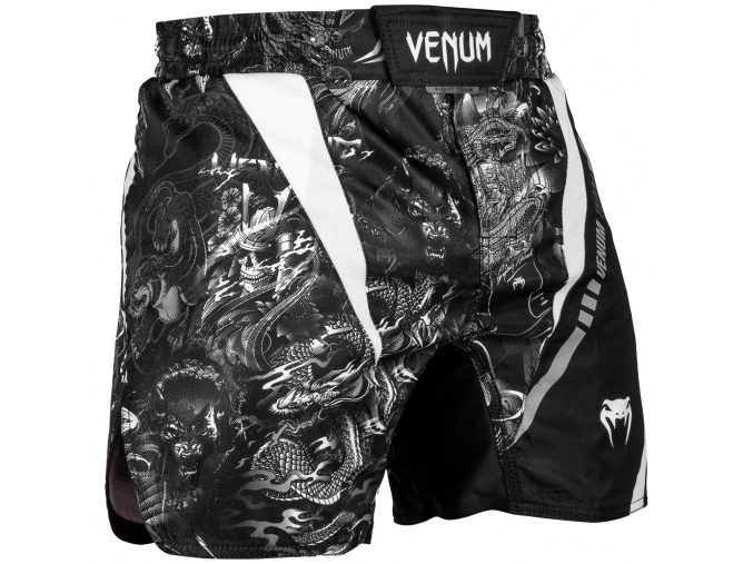 mma shorts venum art black f1