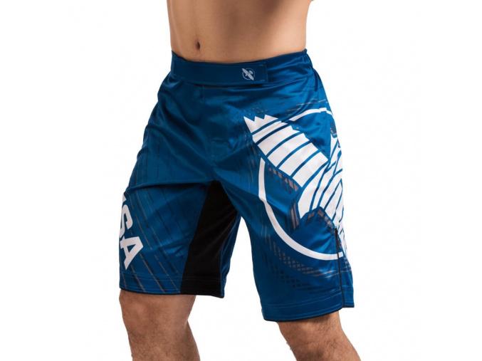 mma shorts hayabusa chikara 4 blue f1