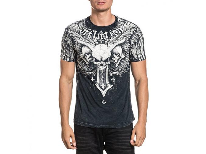 tricko tshirt affliction demon eyes f1