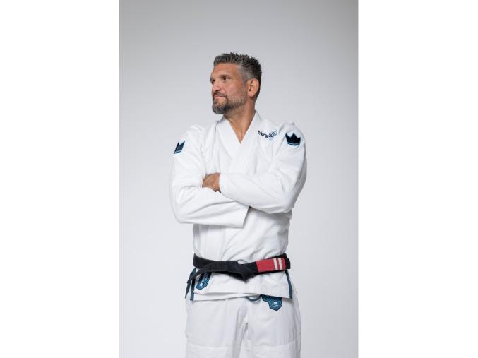 bjj gi kimono kingz nano2 white bile jiu jitsu f2