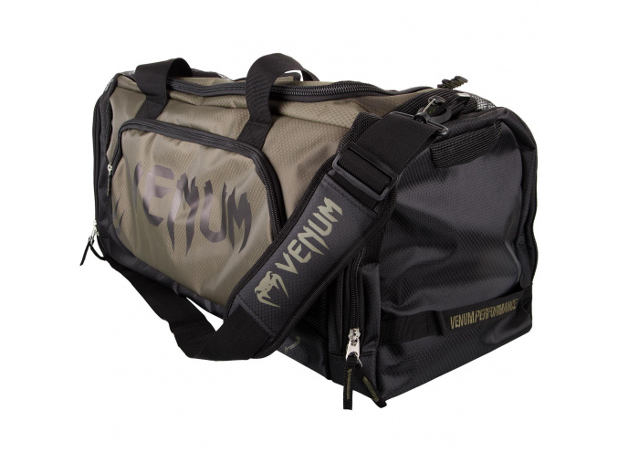 venum trainer lite green black sports bag f1