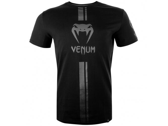 venum 03449 114 tshirt tricko logos black black f1