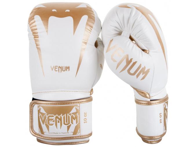 venum 2055 226 boxing gloves boxerske rukavice giant 3.0 white gold f1