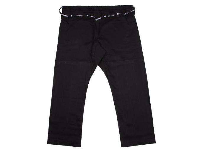 bjj pants kalhoty tatami basic black cerne f1