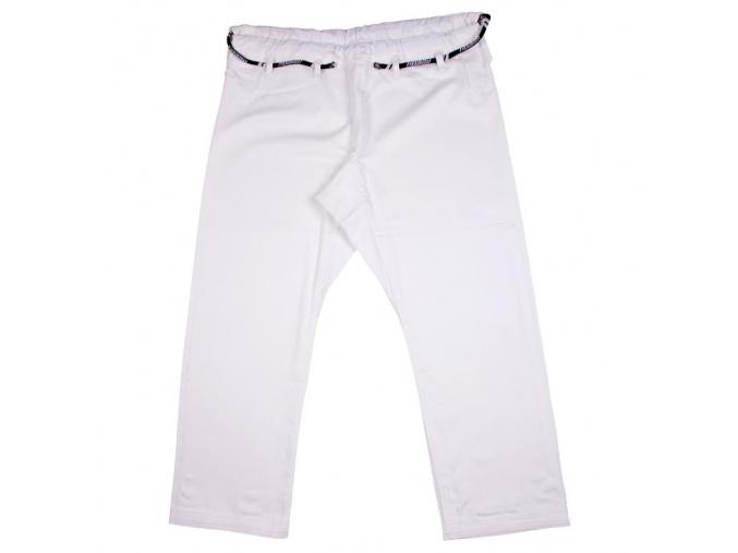 bjj pants kalhoty tatami basic white bile f1