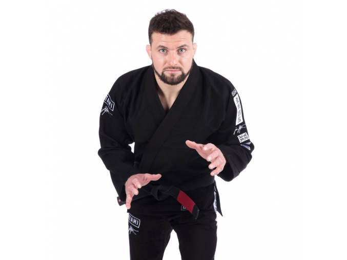 tatami bjj gi kimono signature black cerne f1