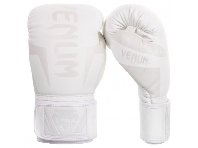boxing gloves box venum elite white bile f1