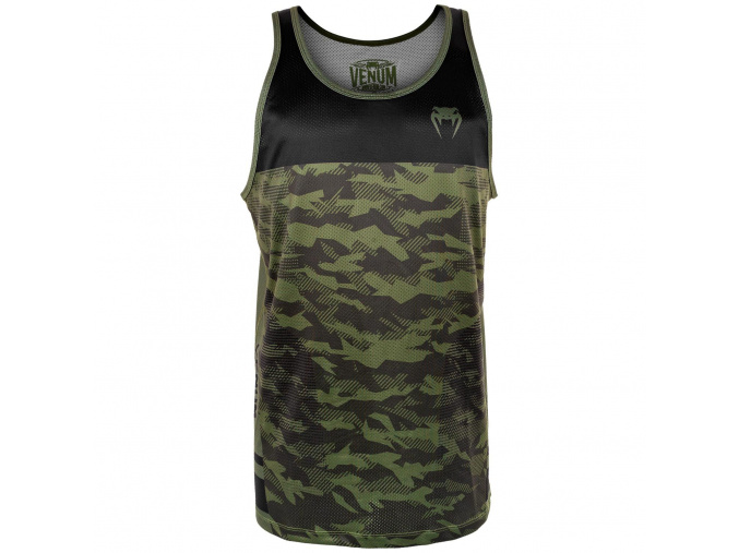 tank top venum trooper forest camo black f1