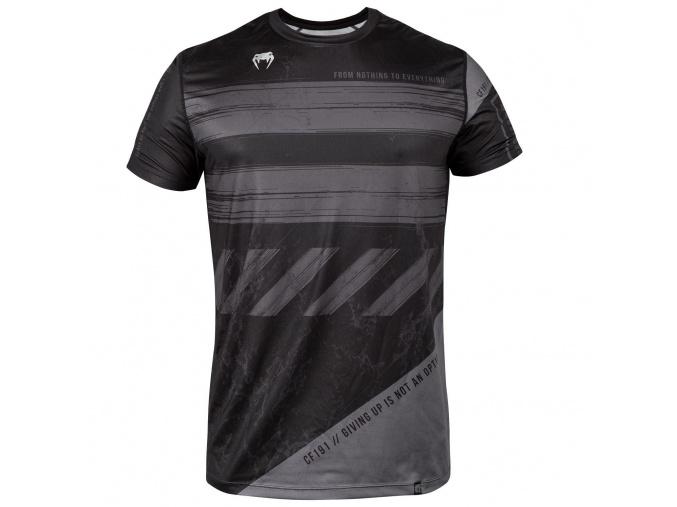 venum 03691 109 tshirt tricko drytech amrap black grey f1