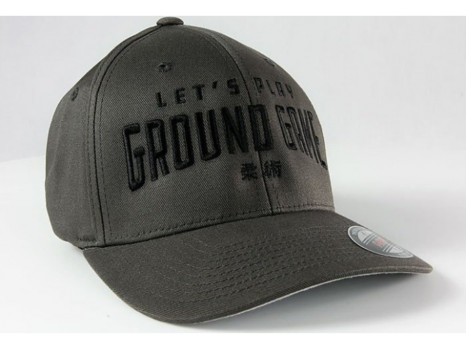 Kšiltovka Ground Game KANJI GREY