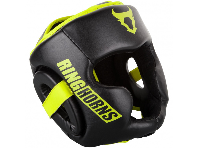 rh 00021 116 ringhorns prilba helma headgear charger black neoyellow f1