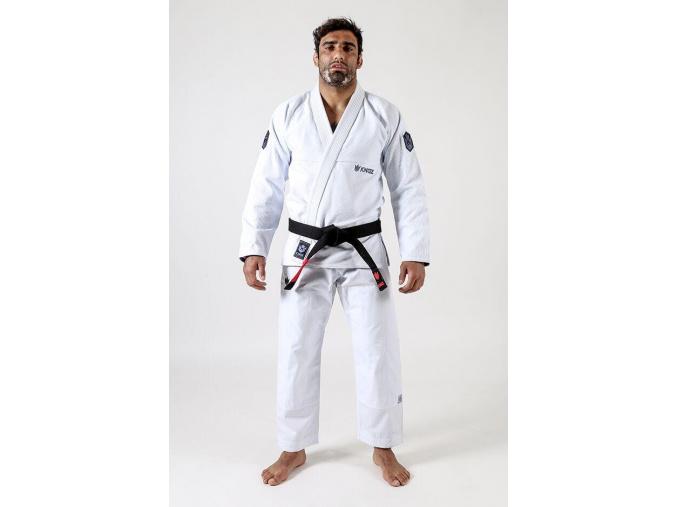 bjj brazilian jiu jitsu gi kimono kingz balistico3 white bile f1