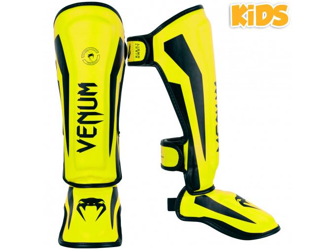 chranic holeni venum elite kids black yellow f1