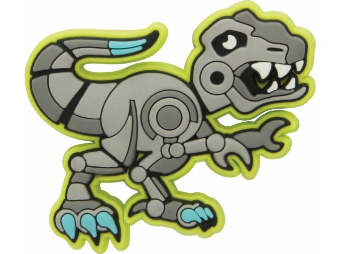 Crocs Odznáček Jibbitz - Robosaur Rex