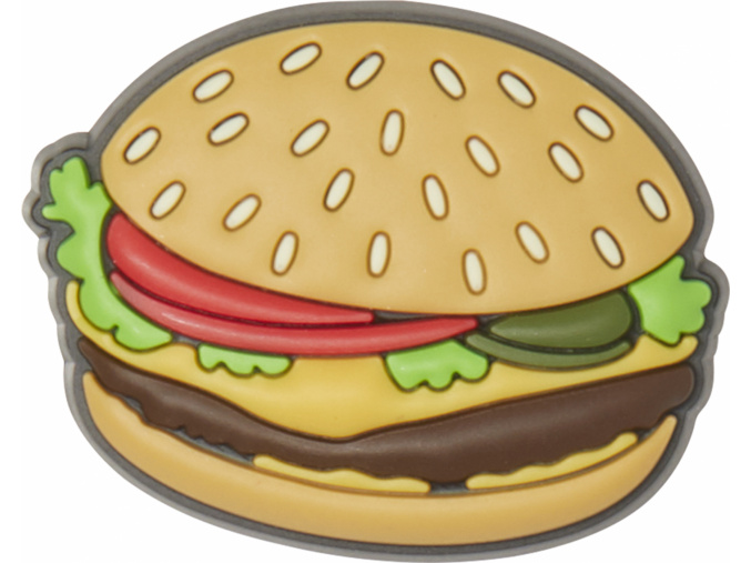 Crocs Odznáček Jibbitz - Burger Charm