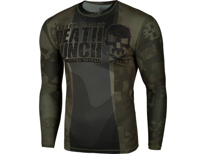 Rashguard - funkční tričko Extreme Hobby DEATH PUNCH - dlouhý rukáv