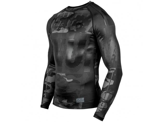 venum 03743 134 rashguard long dlouhy rukav sleeve tactical urbancamo black f2