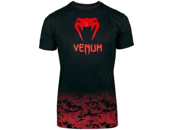 venum 03526 100 tshirt tricko classic black red f1