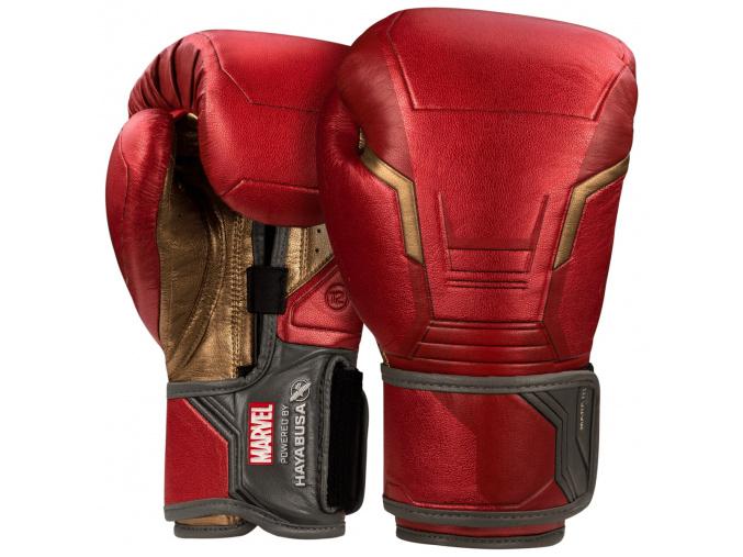 boxing gloves hayabusa marvel iron man boxerske rukavice f1