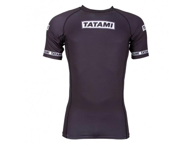 rashguard short black tatami dweller 2