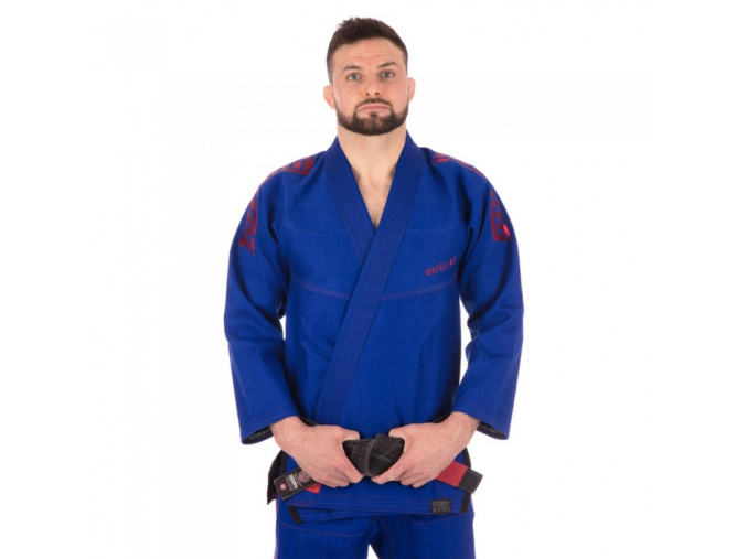 tatami gi bjj estilo6 blue burgundy f1