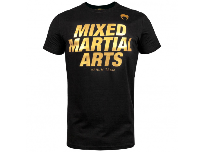 tricko mma boxing vt black gold 1
