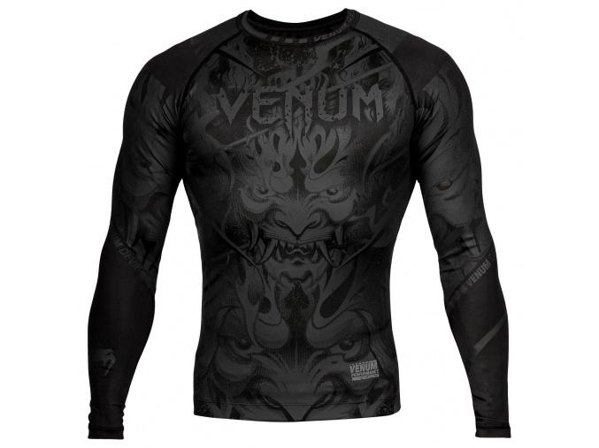 rashguard long venum devil black black 1
