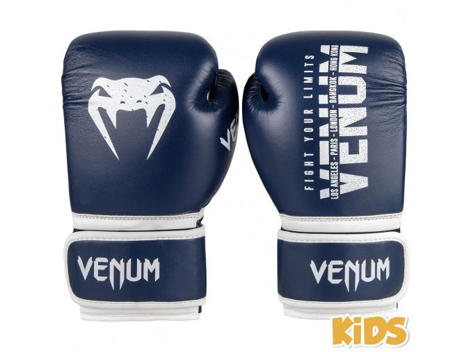 boxerky detske venum signature navy 1