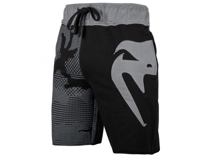 shorts cotton venum assault black grey 1