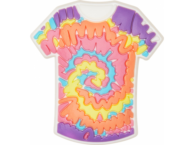 Crocs Odznáček Jibbitz - Tie Dye Shirt