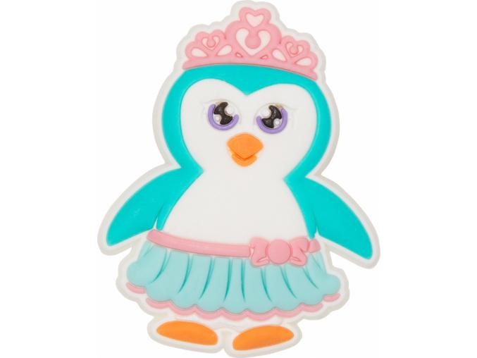 Crocs Odznáček Jibbitz - Penguin Princess