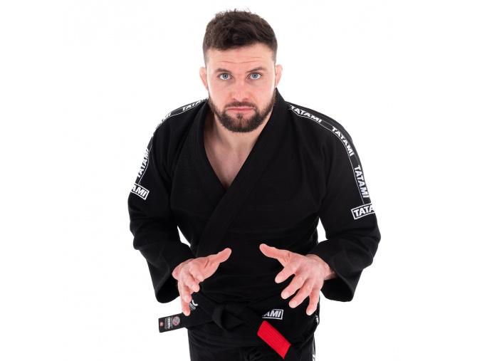 bjj kimono gi tatami dweller black cerne jiu jitsu f1