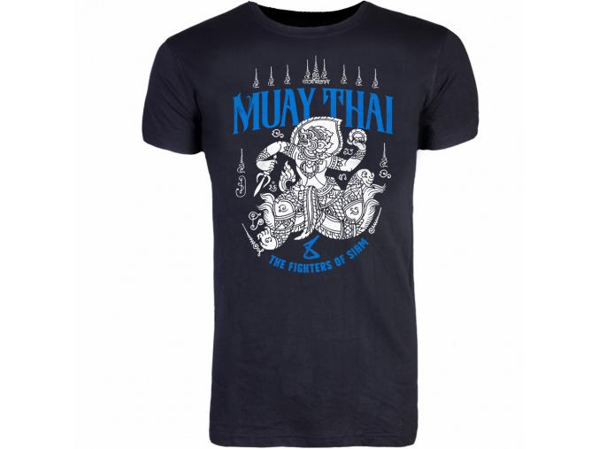 8WEAPONST Shirt HanumanSakYantBlack