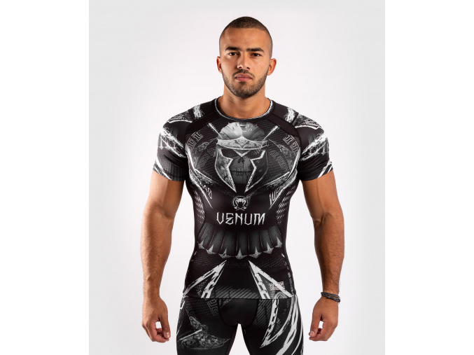 rash short venum gladiator 4.0 blackwhite 1
