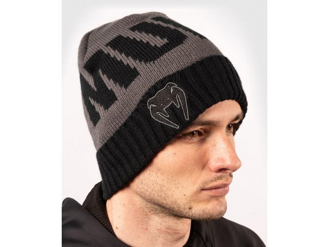 winterhat II venum elite greyblack 1