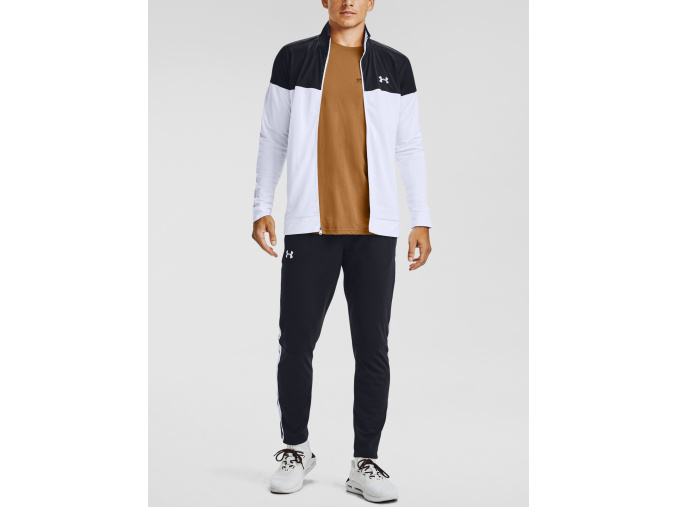 jacket bunda under armour sportstyle pique white bila f1