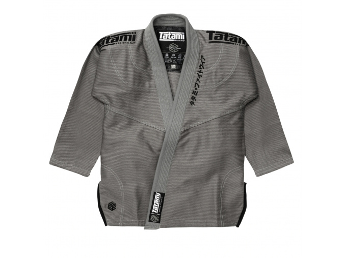 tatami black label white gi kimono bjj sede grey f1