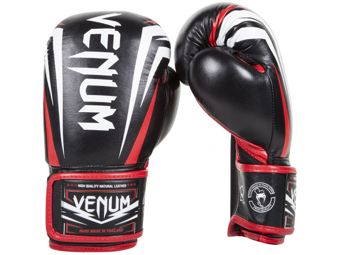 boxing gloves box venum sharp black ice red f2