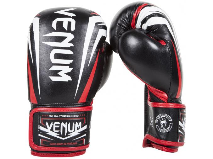 boxing gloves box venum sharp black ice red f2