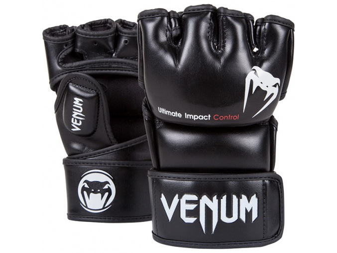 mma gloves impact black 620 01