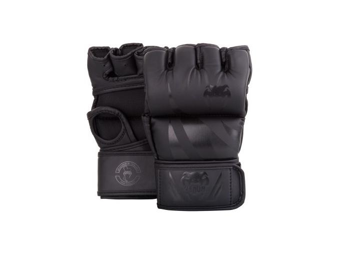 mma gloves challenger thumb black black 1500 01