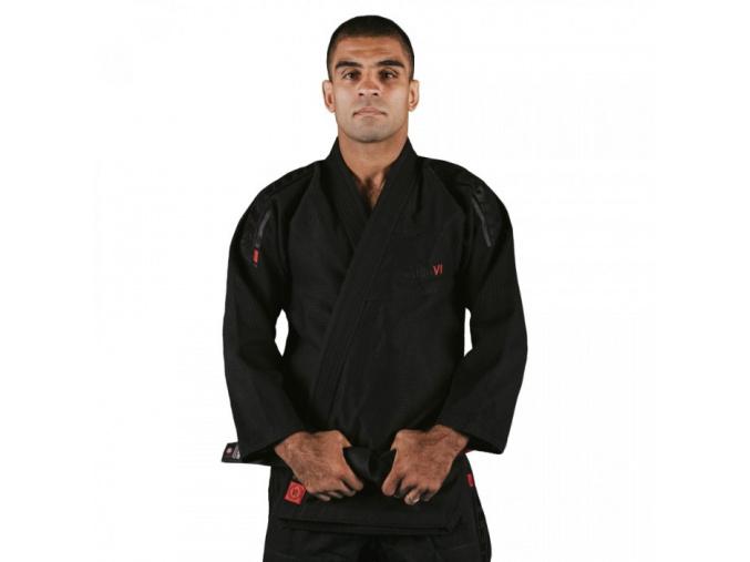 bjj kimono tatami estilo 6 black on black 01