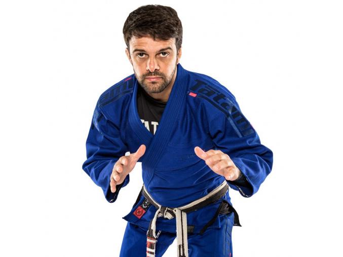 bjj kimono gi tatami estilo 6 blue navy