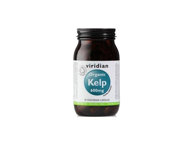 VIRIDIAN nutrition Organic Kelp 90 kapslí