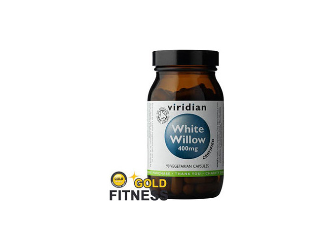 VIRIDIAN nutrition White Willow Bark 400mg 90 kapslí
