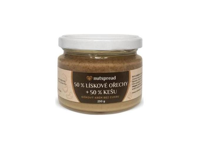 Nutspread 100% dvoubarevné máslo 250g