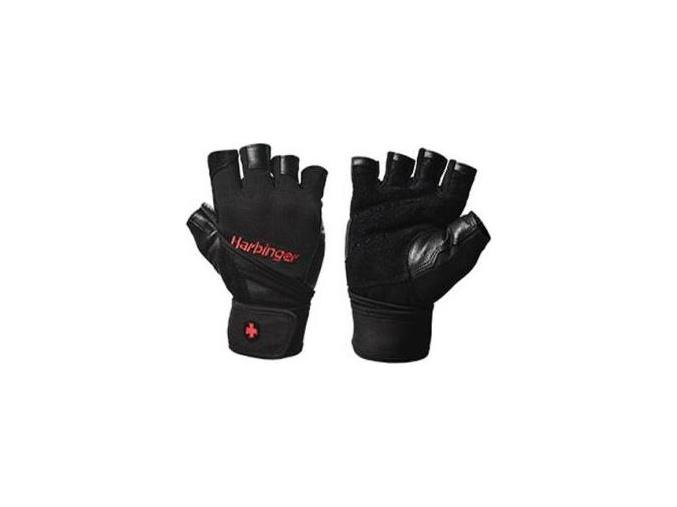 Harbinger Fitness rukavice 1140 PRO s omotávkou