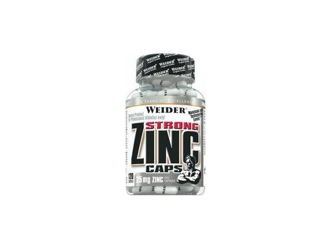 Weider Zinc Strong Caps 120kapslí