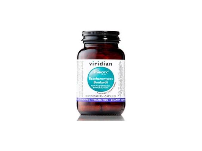 VIRIDIAN nutrition Saccharomyces Boulardii 30 kapslí