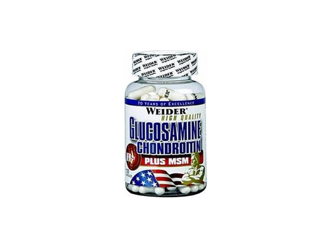 Weider Glucosamine Chondroitin+MSM 120 kapslí